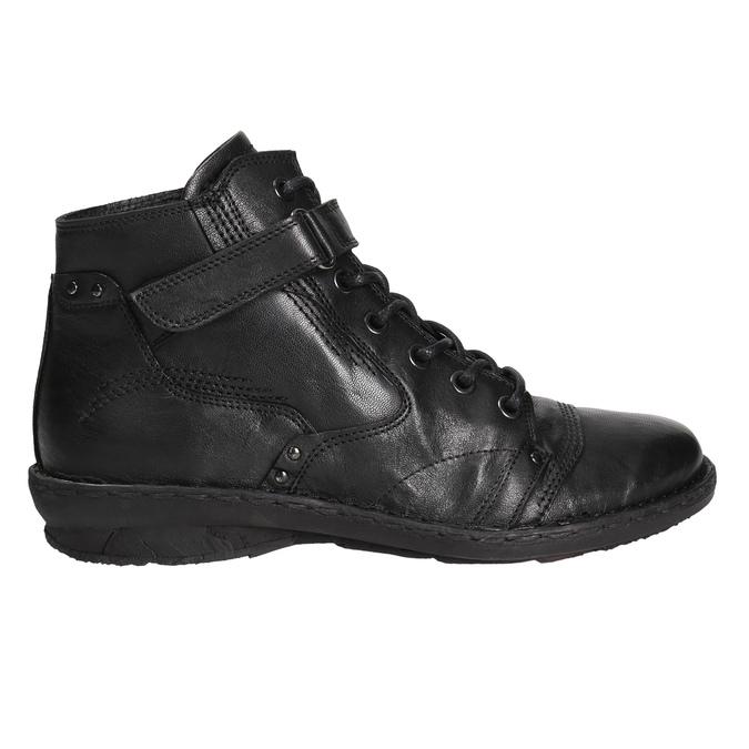 Kotníčková dámská obuv bata, černá, 596-6656 - 15