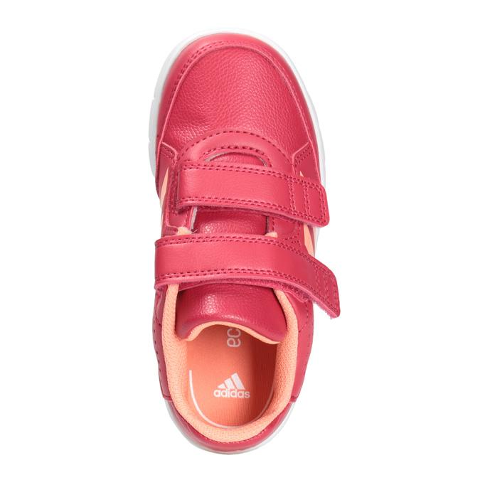 Dětské tenisky na suché zipy adidas, růžová, 101-5161 - 15