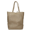 Dámská kožená kabelka s mašlí bata, hnědá, 964-2122 - 16