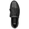 Dámské kožené Slip-on bata, černá, 516-6614 - 26