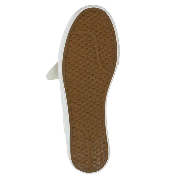 Kožené dámské Slip-on bata, růžová, 516-5614 - 19