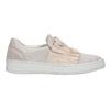 Kožené dámské Slip-on bata, růžová, 516-5614 - 15