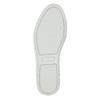 Dámská kožená Slip-on obuv bata, šedá, 516-1614 - 19