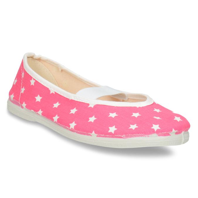 Dětské cvičky s hvězdičkami bata, růžová, 379-5217 - 13