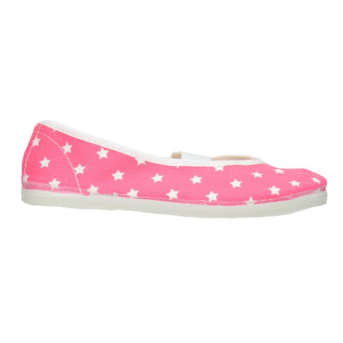 Dětské cvičky s hvězdičkami bata, růžová, 379-5217 - 26