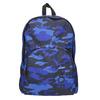 Maskáčový modrý batoh bjorn-borg, modrá, 969-9007 - 26