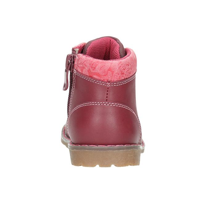 Dívčí kotníčková obuv bubblegummers, růžová, 124-5601 - 17