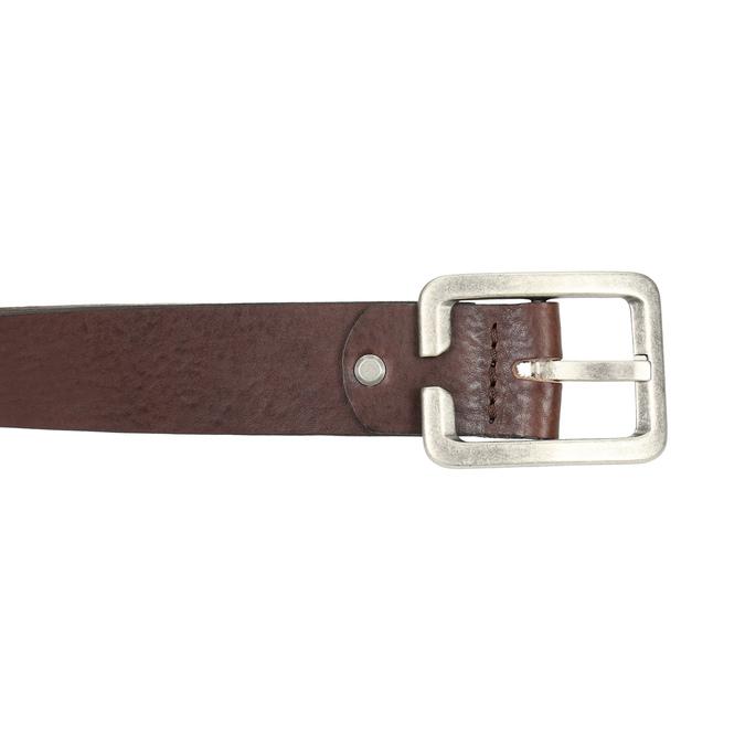 Hnědý pánský opasek bata, hnědá, 954-4190 - 26