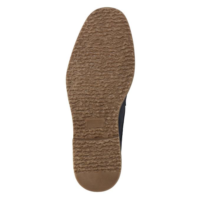 Modrá kotníčková obuv bata, modrá, 823-9615 - 19