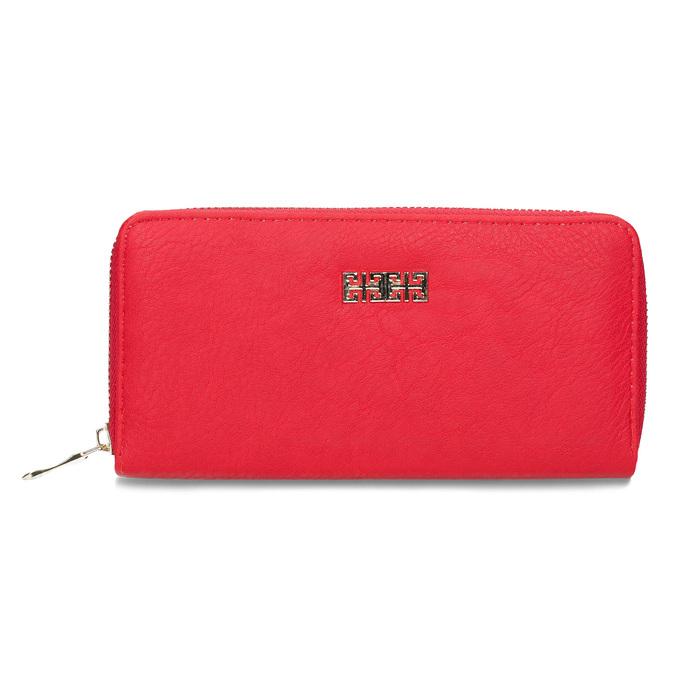 červená dámská peněženka bata, červená, 941-5180 - 26