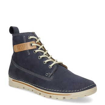 Kotníčková dámská obuv weinbrenner, modrá, 594-9323 - 13