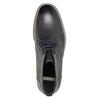 Pánská kotníčková obuv s prošitím bata, černá, 826-6614 - 19