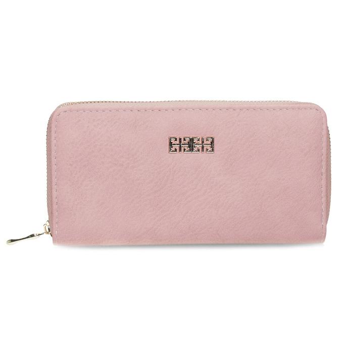 růžová dámská peněženka bata, vícebarevné, růžová, 941-0180 - 26
