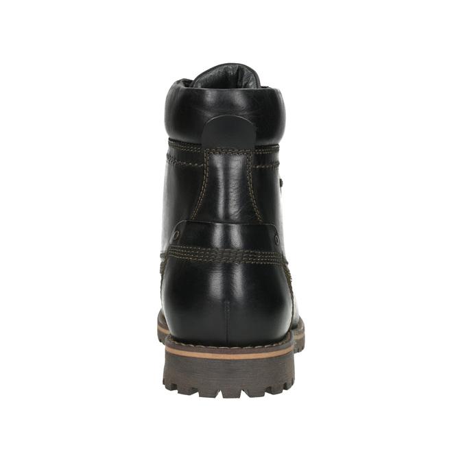 Pánská zimní obuv bata, černá, 896-6640 - 16