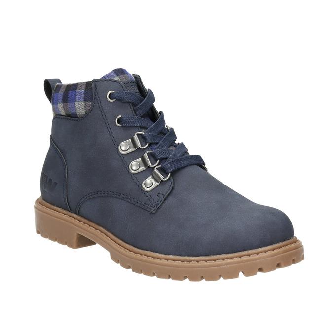 Modrá dětská zimní obuv weinbrenner-junior, modrá, 411-9607 - 13