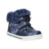Dívčí obuv s kožešinou bubblegummers, modrá, 121-9621 - 13