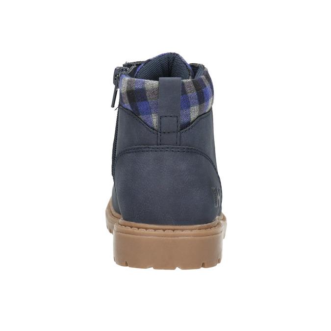 Modrá dětská zimní obuv weinbrenner-junior, modrá, 411-9607 - 17