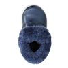 Dívčí obuv s kožešinou bubblegummers, modrá, 121-9621 - 19