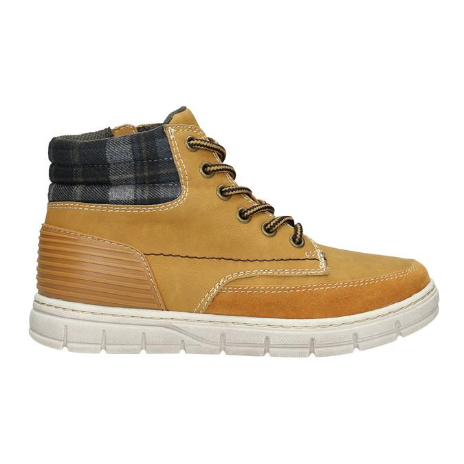 Dětská zimní obuv s výraznou podešví mini-b, hnědá, 311-8611 - 15