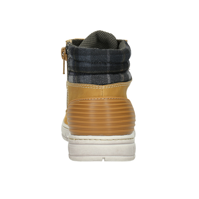 Dětská zimní obuv s výraznou podešví mini-b, hnědá, 311-8611 - 17