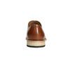 Celokožené Oxford polobotky hnědé bata, hnědá, 826-3414 - 17