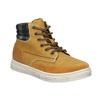 Dětská zimní obuv s výraznou podešví mini-b, hnědá, 311-8611 - 13