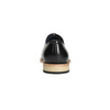 Celokožené Oxford polobotky bata, černá, 824-6414 - 17