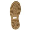 Kožená dámská kotníčková obuv weinbrenner, béžová, 596-1667 - 17