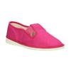 Růžové dětské přezůvky bata, růžová, 279-5121 - 13