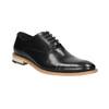 Celokožené Oxford polobotky bata, černá, 824-6414 - 13