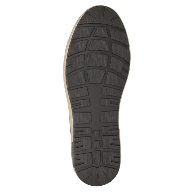 Kotníčkové pánské tenisky bata, hnědá, 846-4651 - 19