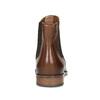 Kožená hnědá dámská Chelsea obuv bata, hnědá, 594-4636 - 15