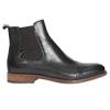 Dámská kožená Chelsea obuv bata, modrá, 594-9636 - 26