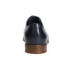Modré kožené polobotky bata, modrá, 826-9680 - 17
