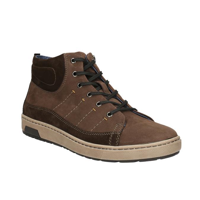 Kotníčkové pánské tenisky bata, hnědá, 846-4651 - 13