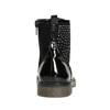 Dětská kotníčková obuv s kamínky mini-b, černá, 321-6611 - 17