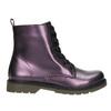 Metalická dětská obuv mini-b, fialová, 321-9612 - 15