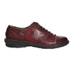 Dámské kožené polobotky bata, červená, 526-5640 - 15