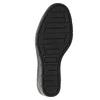 Dámské kozačky na klínku bata, černá, 796-6645 - 19