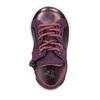 Kotníčkové dětské kožené tenisky bubblegummers, fialová, 123-9602 - 15