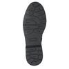 Dětské kožené šněrovací boty bullboxer, černá, 496-6016 - 17