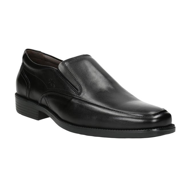 Kožené pánské Loafers fluchos, černá, 814-6443 - 13
