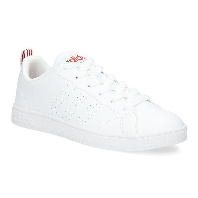 Bílé dámské tenisky adidas, bílá, 501-5500 - 13