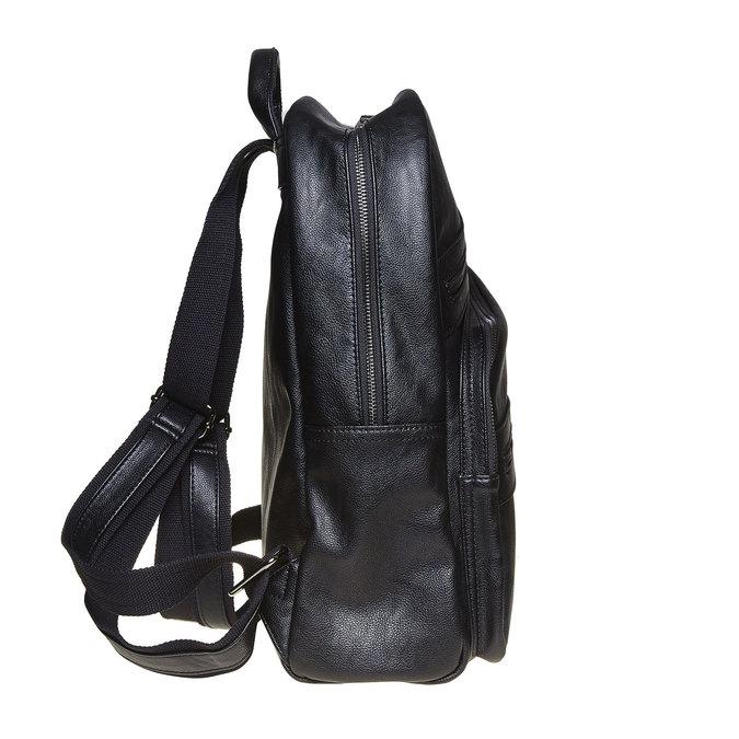 Batoh se zipy bata, černá, 961-6516 - 17