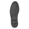 Pánské kožené Derby polobotky bata, černá, 824-6926 - 19