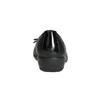 Kožené baleríny s prošitím comfit, černá, 526-6638 - 17
