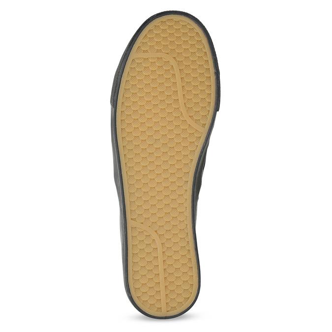 Černá dámská Slip-on obuv s mašlí north-star, černá, 511-6606 - 18