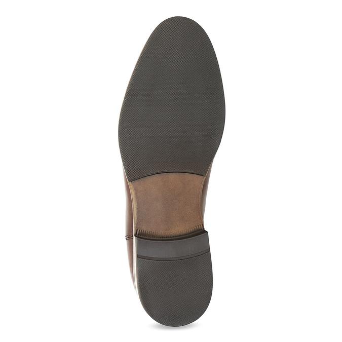 Kožená hnědá dámská Chelsea obuv bata, hnědá, 594-4636 - 18