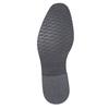 Ležérní kožené polobotky se strukturou bata, šedá, 826-2612 - 26