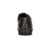 Ležérní kožené polobotky bata, hnědá, 824-4925 - 17